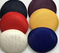 15 cm round  polyester fascinator base Great for making fascinators/party hats