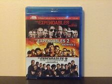 Expendables trilogy [Blu-ray] *NEW*