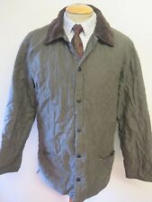 """Barbour D2101 Eskdale Quilted Jacket - S 34-36"""" Euro 44-46 in Green"""
