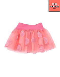 RRP €125 I PINCO PALLINO Tulle Tutu Skirt Size 3M Embroidered Gathered
