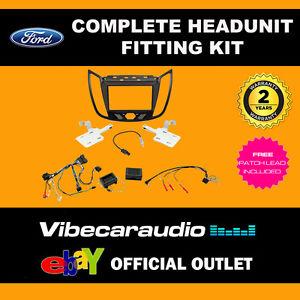 CTKFD44 Ford Kuga Double Din Stereo Fitting Kit Fascia Stalk Adaptor