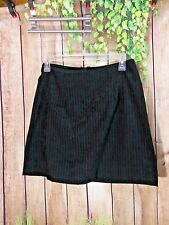 CITY Triangles Women's Skirt Size 9 Black and White Striped
