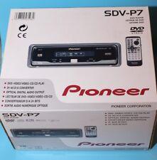 Pioneer SDV-P7 In-dash Single DVD/CD Player