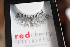 Red Cherry TRACE #217 falsche künstliche schwarze Echthaar-Wimpern strip lash