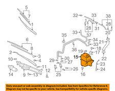 MITSUBISHI OEM Outlander Wiper Washer-Windshield Fluid-Reservoir Tank MN126645