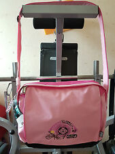 "4YOU Sporttasche Messengerbag ""summer Challenge 1982"" rosa"