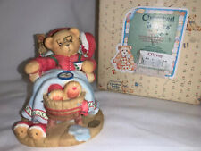 Nib 1998 Cherished Teddies Enesco Santa Limited Edition Holiday R&R #352713