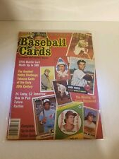 BASEBALL CARDS THE COMPLETE SPORT COLLECTOR'S MAGAZINE Vol.1 No. 2