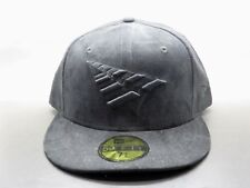 NWT Roc Nation Jay-Z Triple Black Nubuck Suede Fitted Hat Cap size 7 3 9f7b75c0468f