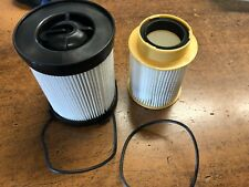 NEW OEM NISSAN TITAN XD 2016-2019 FUEL FILTER KIT W SEALS (BOTH FILTERS)