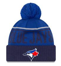 Toronto Blue Jays Kids Junior Jumbo Cheer Cuffed Pom Toque/Beanie New Era Child