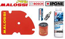 Kit Entretien Filtre Malossi Bougie Bosch Huile Ipone Vespa GTS 125 I Sport