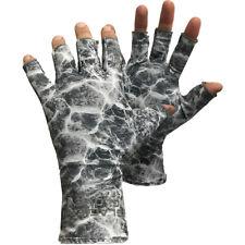 Glacier Glove Abaco Bay Guantes sin dedos Sun-gris camuflaje de agua