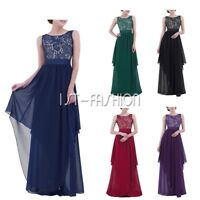 #S-3XL Womens Elegant Evening Party Cocktail Formal Long Maxi Bridesmaid Dress