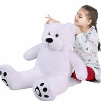 WOWMAX® 3 Foot Teddy Bear Soft Stuffed Dolls White
