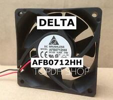 DELTA AFB0712HH Double ball cooling fan DC12V 0.25A  70*70*25mm 2pin
