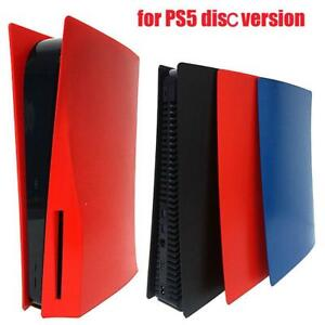 Skin Shell Case Cover Replacement Plate for PS5 Game Gaming Console Anti-Scratch