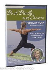 Fairhaven Health Bend Breathe Conceive Fertility Yoga DVD by Anna Davis Ph D RYT