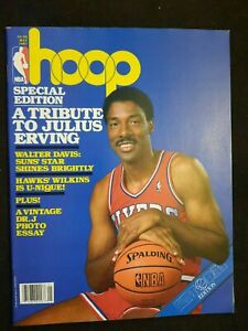 NBA HOOP Magazine May 1987 Tribute to Julius Erving & Centerfold Poster 76ers