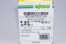 WAGO 750-532  4-Kanal Digital Ausgangsklemme  OVP, NEU