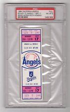 1984 Reggie Jackson 500th Home Run Full Ticket PSA 8
