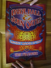 Hall & Oates Poster Daryl John And March 10 1997 Fillmore