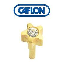 Caflon Earings April Stars Sterile cassette system (1 pair)