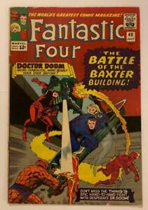Fantastic Four #40 Silver Age issue. (Marvel 1965) VG/FN 5.0