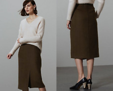 M&S AUTOGRAPH  Wrap Midi Skirt with Wool PRP £69