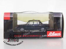 02164 SCHUCO 1:43 MOULÉ SOUS PRESSION 1966-1972 BMW 2000 Type 121 Limousine Taxi