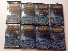 world of warcraft Wow scourgewar 8 Sealed Booster packs