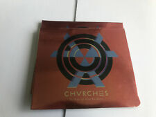 Chvrches - The Bones Of What You Believe (CD) Churches [New & Sealed] Digipack