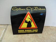 "Children of Bodom Chaos Ridden Years RARE Luggage 4"" Sticker PROMO 2006"