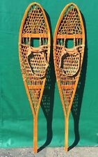 Great Alaskan Snowshoes 54x11 w/ Leather Bindings Snow Shoes!