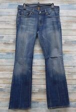 7 For All Mankind Jeans 28 x 32  Women's Boot cut Vintage   (I-38)