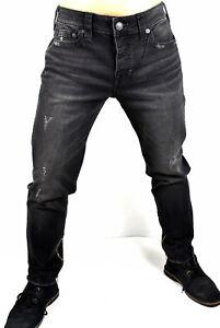 True Religion $229 Men's Relaxed Slim Ankle Length Jeans - MDABL443C1