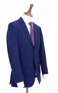 Men's Blue Savile Row Suit Alexandre Queens Royal Warrant 46L W40 L33