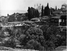 Old Photo. Bursa, Turkey.  Bursa Yeşil Mosque