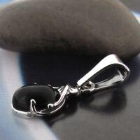 Onyx Silber 925 Anhänger Sterlingsilber Damen Schmuck A0176