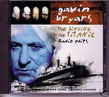 GAVIN BRYARS Sinking of Titanic EDIT PROMO DJ CD Single