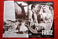 FUNNY FACE #2 AUDREY HEPBURN 1957 GERMAN MOVIE PROGRAM