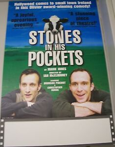 Stones In His Pockets Comedy Play Theater Poster Lobby Card Bronson Pinchot