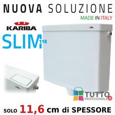 CASSETTA wc esterna universale KARIBA SLIM Super Sottile 6/9 litri salvaspazio