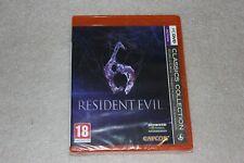 Resident Evil 6 PC  - NEW SEALED  Polish Release + Steam
