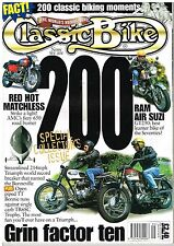 September Classic Bike Monthly Magazines