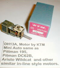 DH 13A In-Line Motor by KTM 5 pole armature Vintage slot car w/Box Oilite NOS