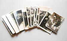 Convoluté Photos Carrière Grès Schauffelradbagger Saxonne Suisse 1930 (D