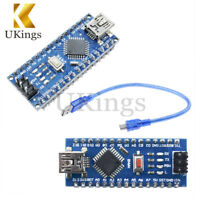 16M 5V Mini USB Nano V3.0 ATmega328 Micro-controller CH340 For Arduino+Cable