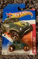 Details about  /2011 Hot Wheels #214 Thrill Racers-Jungle 4//6 BAJA BEETLE Teal Brown Whl GoldUT5