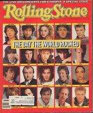 Rolling Stone August 15 1985 David Bowie, Madonna,Paul McCartney w/ML 122116DBE2